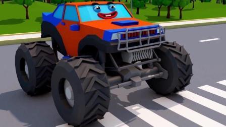 工程车玩具展示