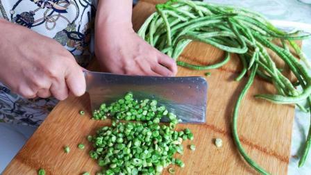 豆角别炒着吃了, 这种做法更美味, 比酸豆角还好吃, 1顿3斤不够吃