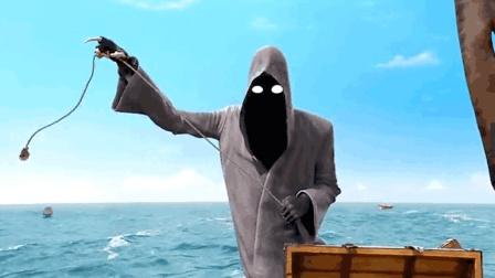 当死神遇上一个爱财如命的水手, 用钱打水漂, 比收割灵魂还有效!