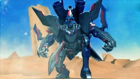 《超兽武装》泰雷召唤超兽太容易了, 救了超兽神三合体状态