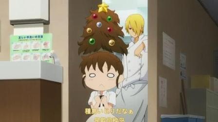 萝莉竟然说高个子缺钙, 发型被恶搞成圣诞树
