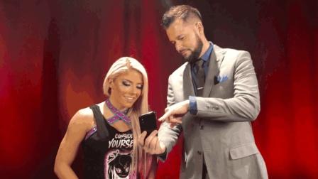 WWE小魔女阿莱克萨布里斯 想来上海打卡迪士尼乐园!