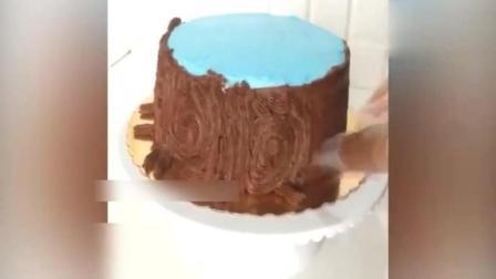 对树干没一定的了解还做不出这样的蛋糕呢