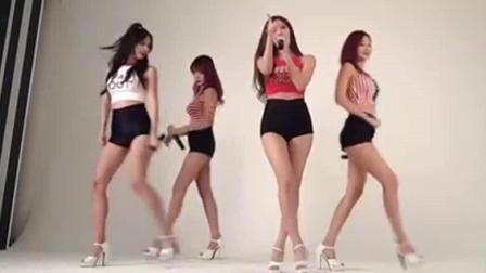 韩国女团Pocket_Girls迷你粉丝见面会, 这样的舞蹈太喜欢了!