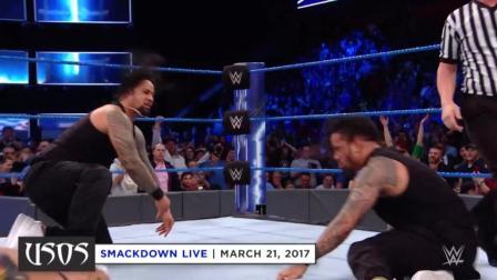 WWE乌索兄弟的五次胜利,