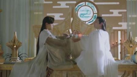 《香蜜》润玉在凤凰的药里下毒, 穗禾找他理论被锦觅撞见, 要发糖了