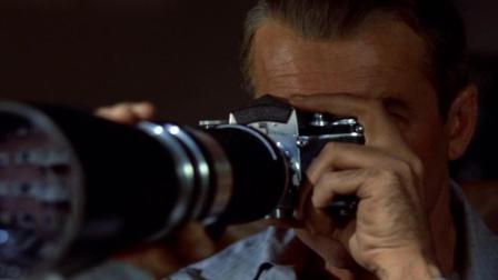 《后窗》: 男子拿着高清相机, 通过后窗乱看, 竟然发现了命案