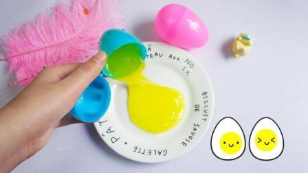 架子姐姐用鸡蛋来做泰透, 只需要加一样家里的东西, Q弹好玩无硼砂
