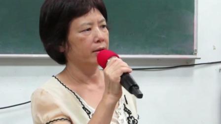 台湾女老师教室演唱刀郎《西海情歌》, 唱到最后, 眼眶含泪!