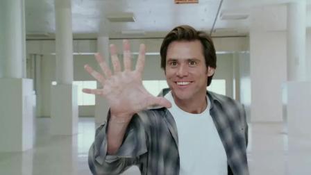 3分钟看完美国版星爷主演的爆笑喜剧《冒牌天神》好莱坞的经典!