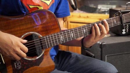 左轮民谣吉他教学NO.166《赵照当你老了》