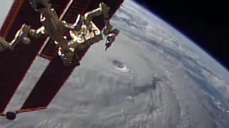 从太空看飓风巷搅动夏威夷群岛