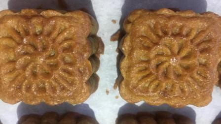 中秋节在家做五仁月饼, 配方比例详细告诉你, 做法非常简单