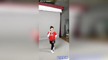 赵佳依琳平面模特拍摄花絮2