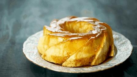 柔滑美味的焦糖奶油芝士蛋糕, 吃完还不过瘾的甜点