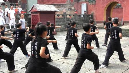 武当山武术夏令营——山中游玩, 太子坡冲拳