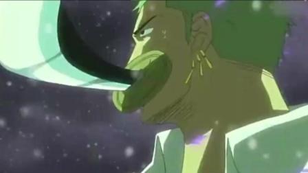 海贼王: 超然, 索隆最强5大技能合集, 如同鬼神降临, 超越第一剑豪