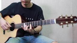 蔡宁编配演奏《浪人琵琶》使用娜塔莎全单吉他JC7 靠谱吉他乐器