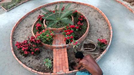 【柬埔寨荒野兄弟】原始技术38 美丽小花园