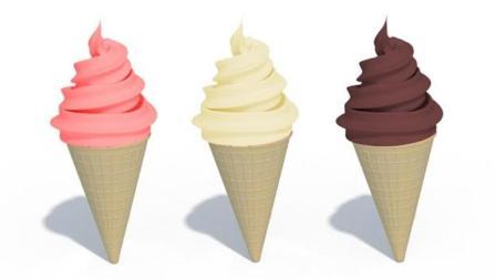 制作果酱冰淇淋甜筒玩具