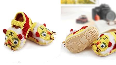小满编织小屋鞋子通用-加软鞋底钩法