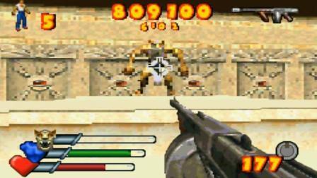【小握解说】《GBA英雄萨姆》第一套地图的最终BOSS战(第3期)