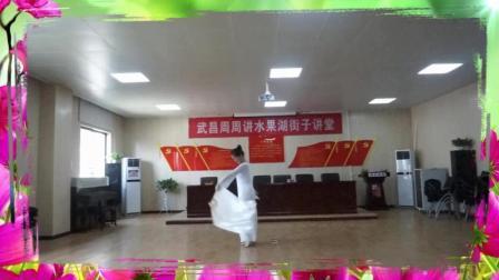 大扇子舞《梁祝》(超慢播放), 展示大扇子运用技巧