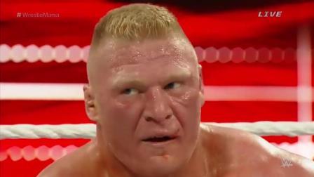 刺激: WWE大狗罗曼VS大布 赛斯断头脚重出