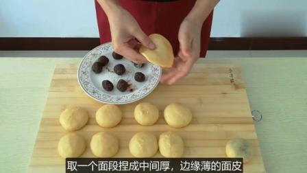 小媳妇懒人豆沙小面包做法, 不用烤箱, 健康无添加, 越吃越想吃