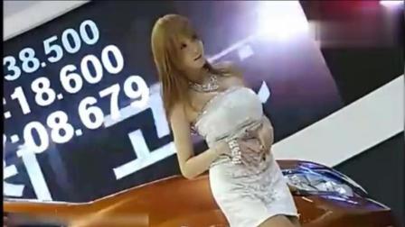 韩国人气美女车模 举手投足都那么可爱!