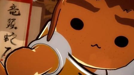 守望先锋搞笑动画 爱吃寿司的源氏喵