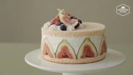 超治愈美食教程: 无花果蛋糕 Fig Cake