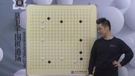 聂卫平道场 中级视频课程 围棋的基本下法(22)