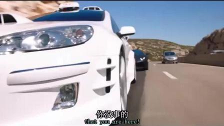 的士速递5: 出租车与兰博基尼飙车, 看脸皮就知道速度有多快