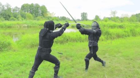 14种欧洲双手长剑格斗技术, 一交手就已分出胜负!