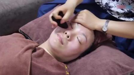 美容师培训视频: 脸部刮痧