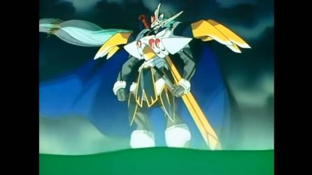 魔神英雄传(神龙斗士) 龙神号的19种型态 - 带你回忆龙神号的全部变身