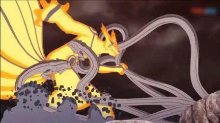 《火影忍者剧场版博人传》鸣人佐助的这波配合打斗 超燃超帅