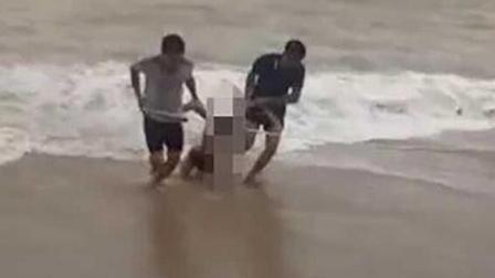 海南五名学生下海游泳三人溺亡 均只有十五六岁