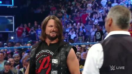 为什么喜欢WWE AJ? 只因这些瞬间!