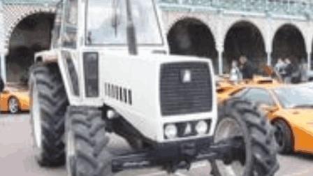 兰博基尼拖拉机, 售价78万, 网友: 拖拉机都买不起!