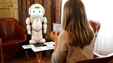 疗愈自闭症的机器人, 只有0.6米高, 网友: 有治抑郁症的吗?
