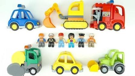 组装小汽车学习车辆的类型