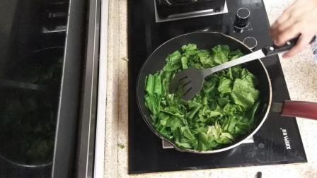 青菜怎么炒好吃 清炒油麦菜的做法步骤视频