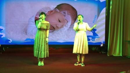 十三狼大舞台歌手苗苗和蒋丹丹献歌