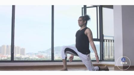 肌肉耐力增强的表现, 这个体式坚持从头做到尾, 身体不会晃动