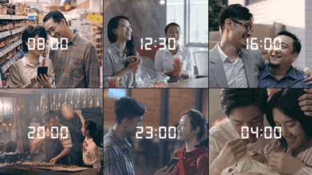 6个朋友圈里看不到的故事, 讲述了在24小时里发生着的故事。