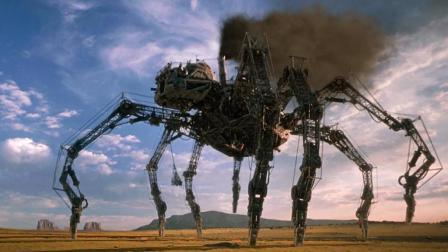 疯狂博士发明巨型钢铁蜘蛛, 轻松摧毁了整个小镇! 速看科幻电影《飙风战警》