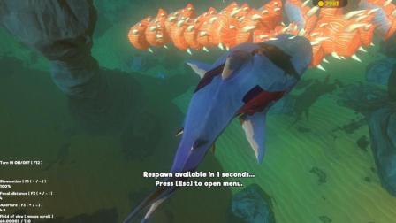 『罐头』模拟鱼 #33 受到核辐射的幽灵鲨