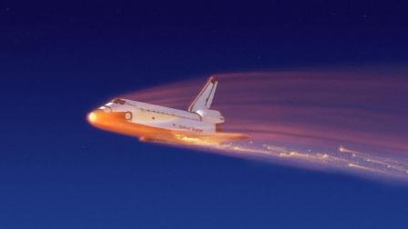 航天飞机返回地球时, 2000度热空气涌入机舱, 7名宇航员瞬间融化